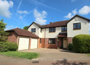 Thumbnail 4 bed detached house for sale in Byron Close, Horsham