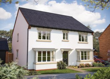 "Thumbnail 5 bed detached house for sale in ""The Winchester"" at Rush Lane, Bidford-On-Avon, Alcester"