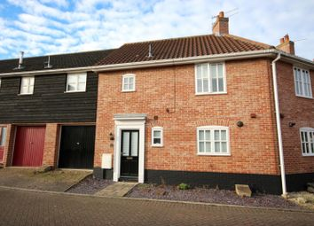 Thumbnail 3 bedroom terraced house to rent in Coltsfoot Crescent, Bury St. Edmunds