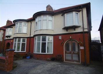 Thumbnail 2 bedroom flat to rent in Lincoln Road, Blackpool