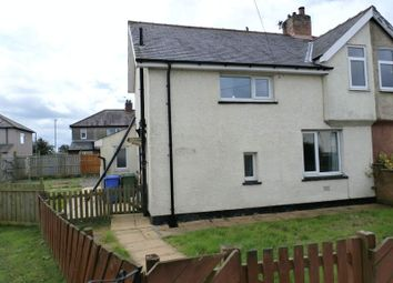 Thumbnail 3 bedroom semi-detached house for sale in Westfield, Amble, Morpeth