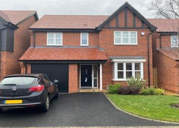 Thumbnail 4 bed detached house to rent in Statham Close, Derby
