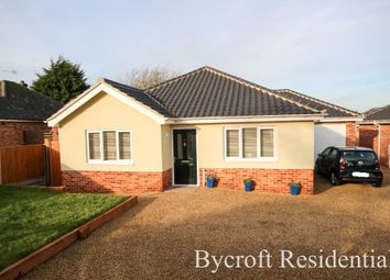 Thumbnail 3 bed detached bungalow for sale in Cromer Road, Ormesby, Great Yarmouth