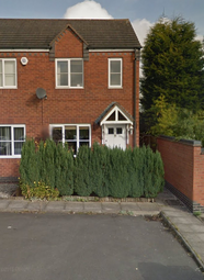 Thumbnail 2 bed semi-detached house to rent in Elliot Close, Cannock