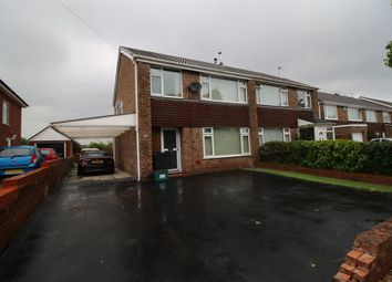 Thumbnail 3 bed semi-detached house for sale in Summertrees Road, Great Sutton, Cheshire