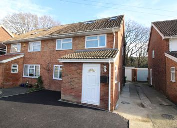 Thumbnail 4 bed semi-detached house to rent in Mill Road, Crawley