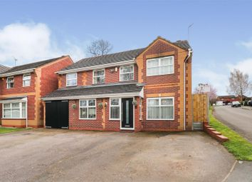 Thumbnail 4 bed detached house for sale in Greenland Avenue, Allesley, Coventry