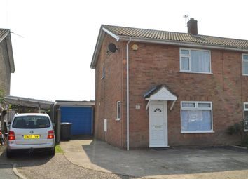 Thumbnail 2 bedroom semi-detached house to rent in Spruce Avenue, Ormesby, Great Yarmouth