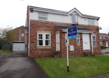 Thumbnail 2 bed semi-detached house to rent in Park Close, Ryhill, Wakefield