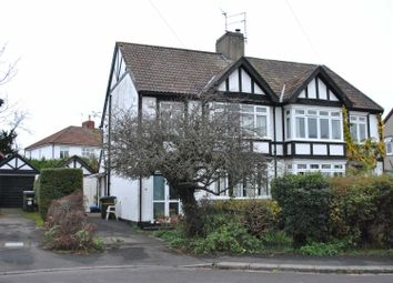Thumbnail 3 bed semi-detached house for sale in Wellington Walk, Westbury-On-Trym, Bristol