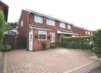 Thumbnail 3 bed semi-detached house for sale in Whitchurch Grove, Mitchells Wood, Newcastle
