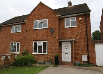 Thumbnail 3 bed semi-detached house for sale in Marnham Crescent, Greenford, London