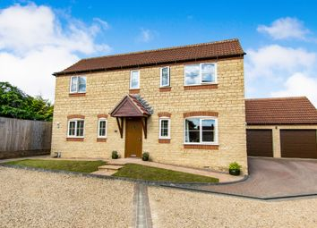 Thumbnail 4 bedroom detached house for sale in Isaac Court, Woolsthorpe By Colsterworth, Grantham