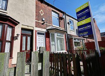 Thumbnail 2 bedroom terraced house for sale in Hornsea Villas, Folkestone Street, Hull