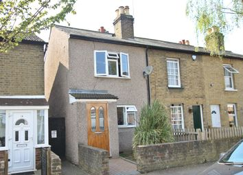 Thumbnail 2 bed end terrace house for sale in Shakespeare Road, Gidea Park, Romford