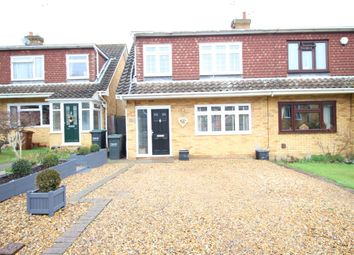 Thumbnail 3 bed semi-detached house for sale in Chequers Close, Istead Rise, Gravesend