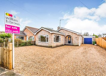 Thumbnail 3 bed detached bungalow for sale in Fen Close, Wisbech