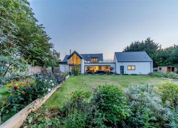 Thumbnail 5 bed detached house for sale in Elton Road, Stibbington, Peterborough