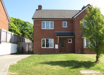 Thumbnail 3 bed semi-detached house to rent in 19 Robert Cubbon Close, Reayrt Y Sheear, Douglas