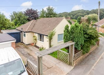 Thumbnail 2 bed detached bungalow for sale in Valley Road, Sandgate, Folkestone
