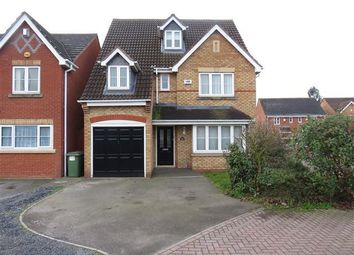 Thumbnail 5 bed detached house to rent in Lingfield Road, Norton Canes, Cannock