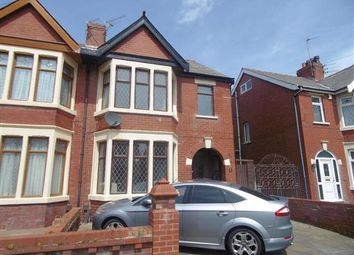 Thumbnail 4 bedroom property to rent in Kenilworth Gardens, Blackpool