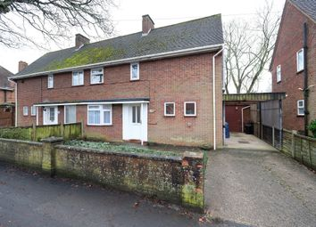 Thumbnail 2 bed semi-detached house for sale in Calmore Road, Totton