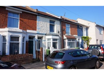 Thumbnail 3 bed terraced house for sale in Jervis Road, Portsmouth