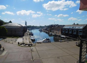 Thumbnail 2 bed flat for sale in Waterside, The Quay, Exeter