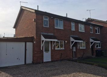 Thumbnail 2 bed end terrace house for sale in Richardson Close, Broughton Astley, Leicester, Leicestershire