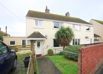 4 bed semi-detached house to rent in Tregullow Road, Falmouth, Cornwall TR11
