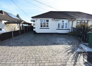 Thumbnail 4 bed semi-detached bungalow for sale in Pembroke Avenue, Corringham, Stanford-Le-Hope, Essex