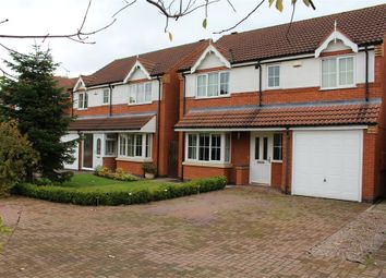 Thumbnail 4 bed detached house for sale in Netherfield Close, Broughton Astley, Leicester