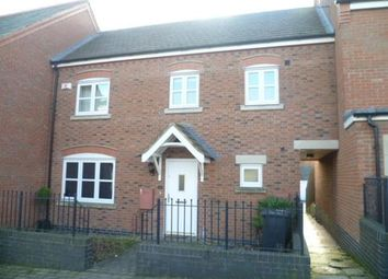Thumbnail 3 bed terraced house to rent in Little Connery Leys, Birstall, Leicester