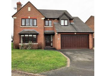 Thumbnail 4 bed detached house for sale in Styal Close, Northwich