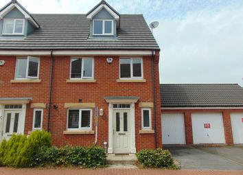 Thumbnail 4 bedroom terraced house to rent in Harvey Avenue, Newton Hall, Durham