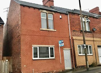 Thumbnail 3 bed end terrace house for sale in Snape Hill Road, Darfield
