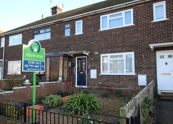 Thumbnail 2 bed terraced house for sale in Chalk Road, Queenborough