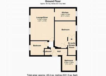 Thumbnail 2 bedroom flat to rent in Primrose Walk, Grange Park, Northants