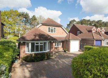 Thumbnail 4 bed detached house for sale in Greenways, Church Crookham, Fleet