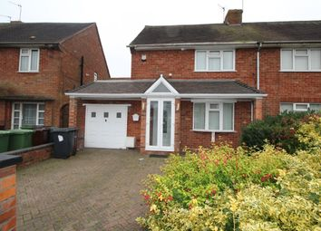Thumbnail 2 bedroom semi-detached house for sale in Blackwood Avenue, Wednesfield, Wolverhampton