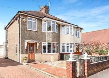 Thumbnail 3 bedroom semi-detached house for sale in St. Pauls Road, Staines-Upon-Thames, Surrey