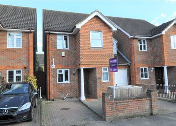 Thumbnail 3 bed link-detached house for sale in Park Road, Egham