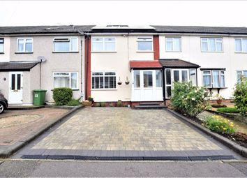 Thumbnail 5 bed terraced house for sale in Limerick Gardens, Upminster, Essex