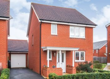 Thumbnail 3 bed detached house for sale in Mayfield Way, Exeter