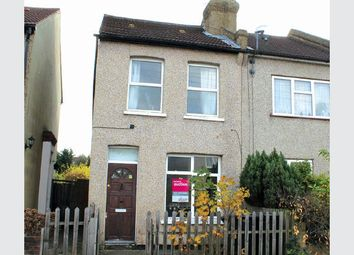 Thumbnail 3 bed end terrace house for sale in Wortley Road, Croydon