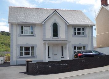 Thumbnail 4 bed detached house for sale in Vicarage Hill, Aberaeron