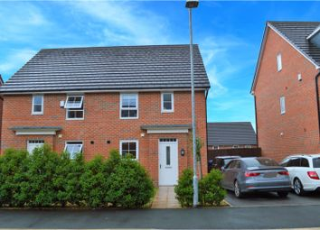Thumbnail 3 bedroom semi-detached house for sale in Holden Drive, Swinton