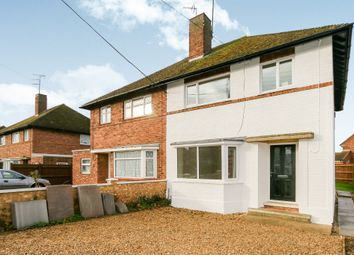 Thumbnail 3 bed semi-detached house for sale in Highfield Road, Thrapston, Kettering