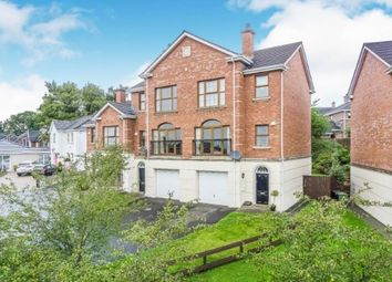 Thumbnail 4 bed town house for sale in Linen Green, Lisburn